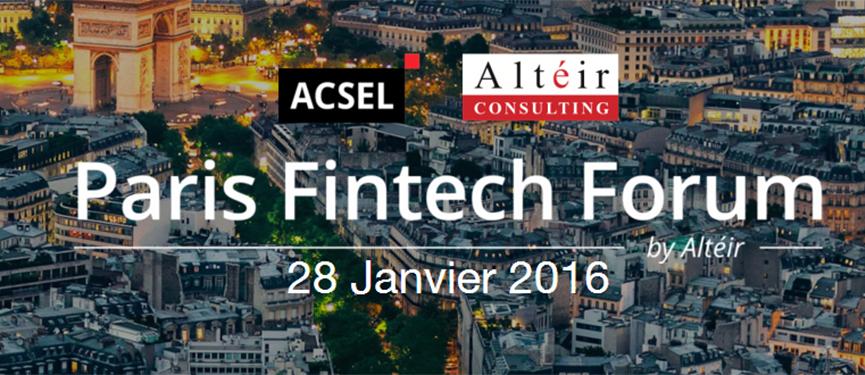[Fintech] Paris Fintech Forum : Pandat sera présent !
