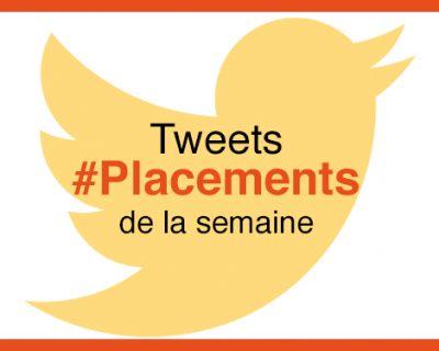 Top 20 des tweets #placements de la semaine #18