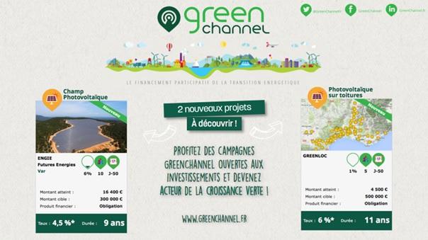 GreenChannel : L'investissement participatif dédié à la transition énergétique