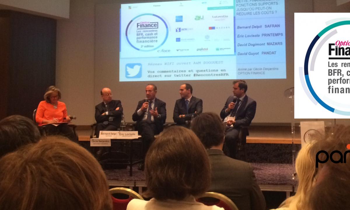 David Guyot a pris la parole lors des Rencontres BFR, CASH et performance financière organisées par Option Finance