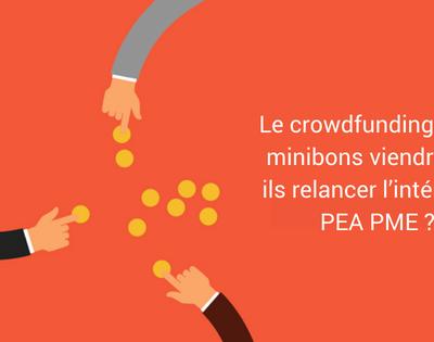 Le crowdfunding et les minibons viendront-t-ils relancer l'intérêt du PEA PME?