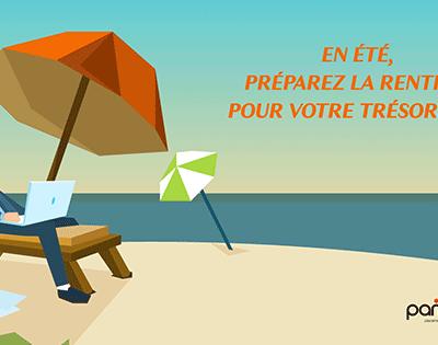 En été, préparez la rentrée pour votre trésorerie!