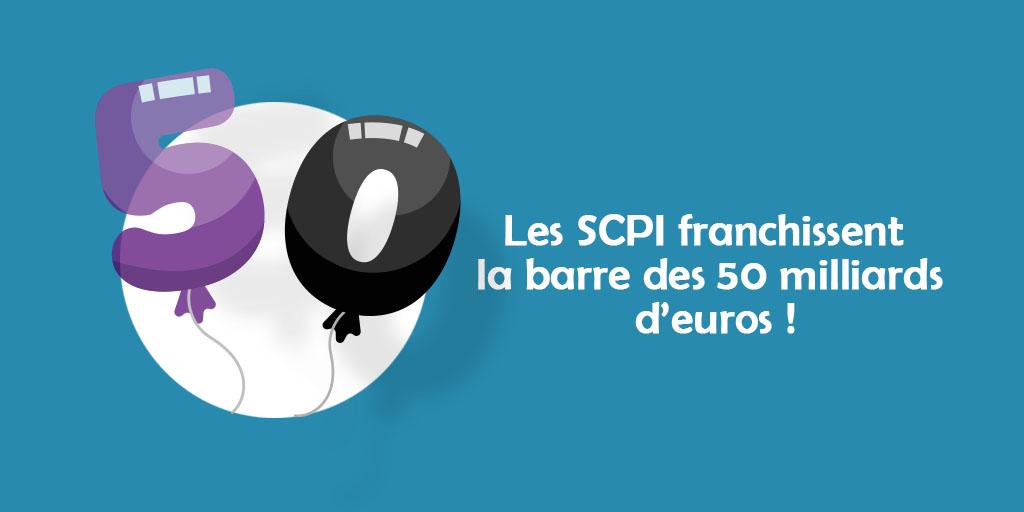 Les SCPIfranchissent la barre des 50 milliards d'euros !