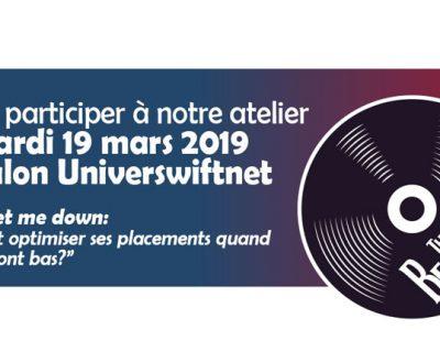 UNIVERSWIFNET: Nouvelle participation pour PANDAT le 19 mars 2019