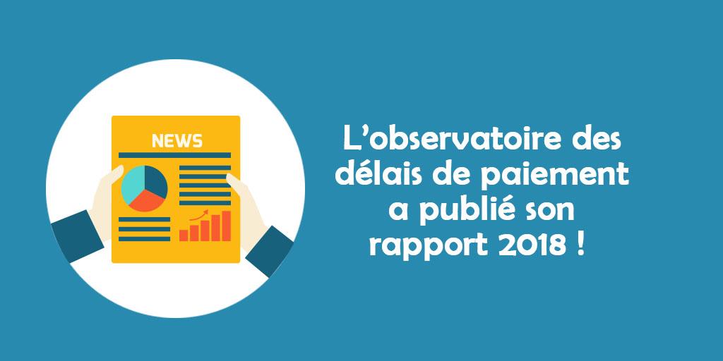 L'observatoire des délais de paiement a publié son rapport 2018 : 19 milliards d'euros manquent aux PME