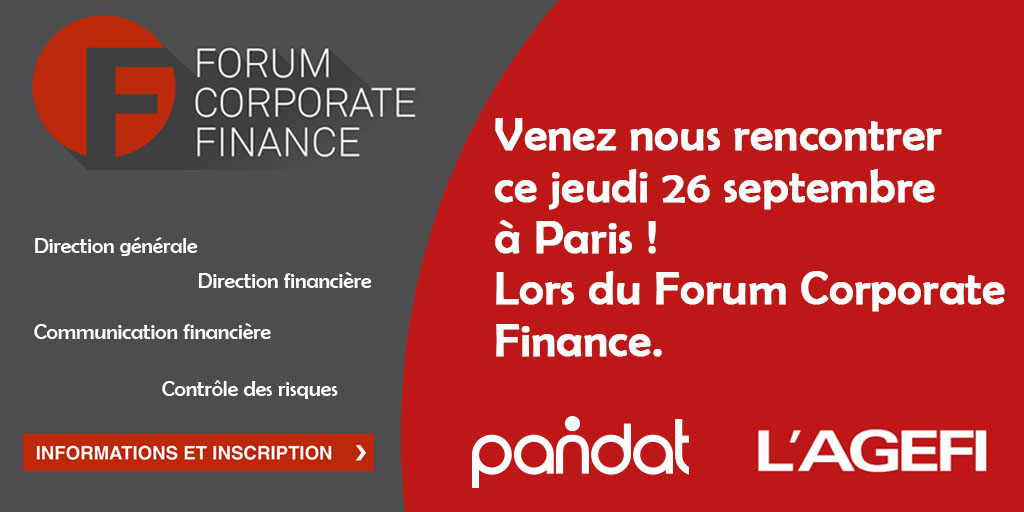 PANDAT FINANCE partenaire du Forum Corporate Finance par l'AGEFI
