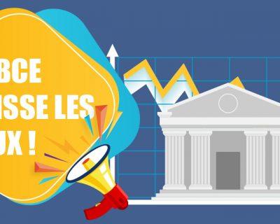 [ÉDI'TAUX] La BCE baisse les taux et annonce de nouvelles mesures de soutien