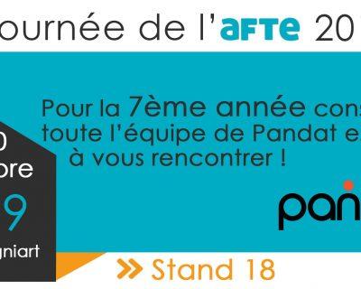 Pandat Finance participe cette année encore aux journées de l'AFTE !