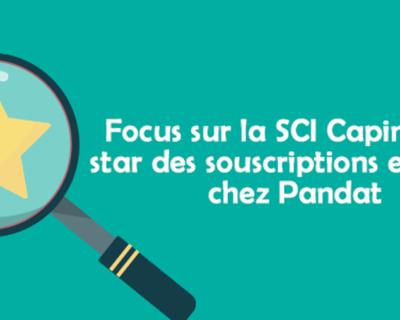 Focus sur la SCI Capimmo (+4,56% en 2019), star des souscriptions en 2019 chez Pandat