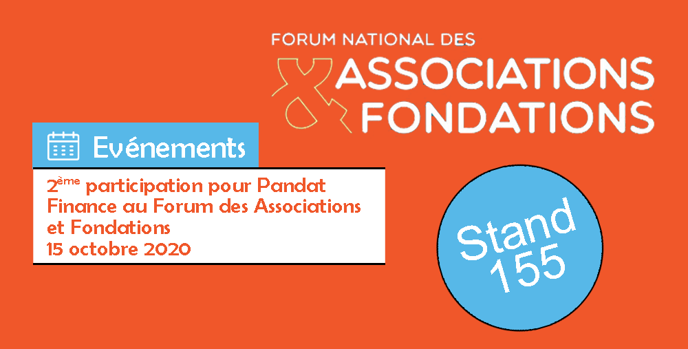 2ème participation pour Pandat Finance au Forum National des Associations et Fondations