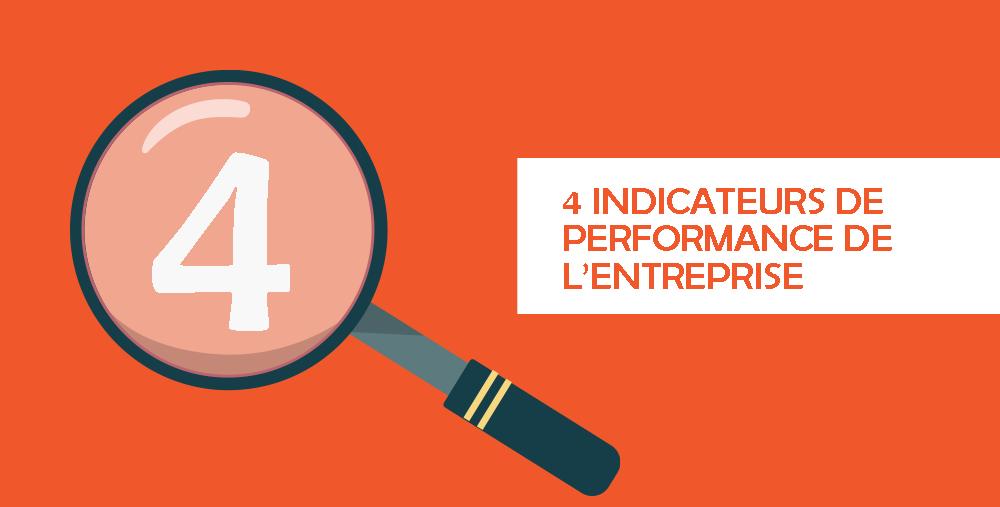 4 indicateurs de performance de l'entreprise
