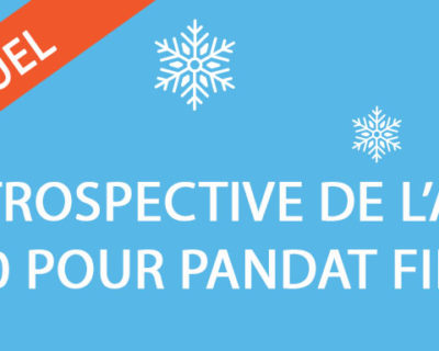 Rétrospective de l'année 2020 pour Pandat Finance