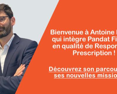 Bienvenue à Antoine Bassi qui intègre Pandat Finance !