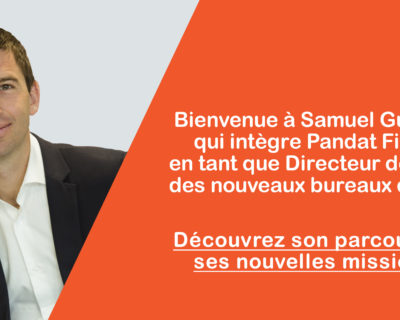 Bienvenue à Samuel Guillemin qui intègre l'équipe Pandat Finance !